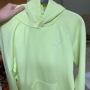 Nike Therma-Fit Neon Hoodie